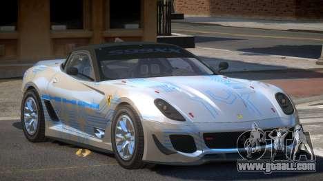Ferrari 599XX R-Tuning PJ1 for GTA 4