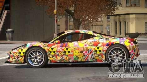 Ferrari 458 Qz PJ1 for GTA 4