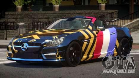 Mercedes Benz SLK DDS PJ6 for GTA 4
