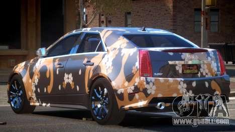 Cadillac CTS-V LR PJ2 for GTA 4