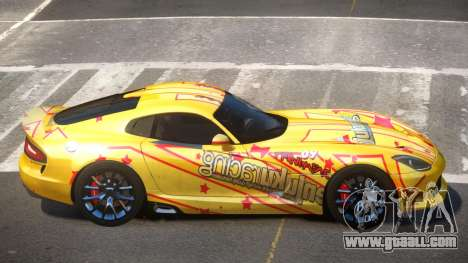 Dodge Viper SRT D-Tuned PJ5 for GTA 4