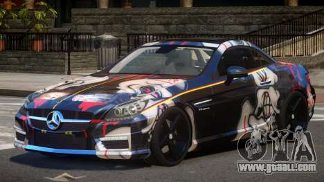 Mercedes SLK55 RG38 PJ3 for GTA 4