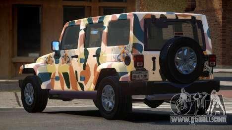 Jeep Wrangler LT PJ2 for GTA 4