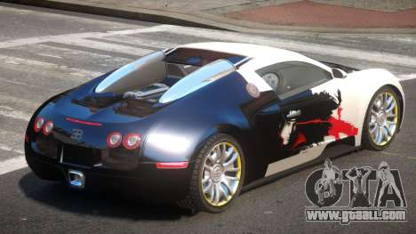 Bugatti Veyron 16.4 S-Tuned PJ1 for GTA 4