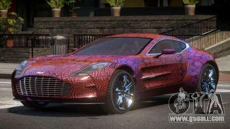 Aston Martin One-77 LS PJ6 for GTA 4