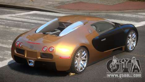 Bugatti Veyron 16.4 RT for GTA 4