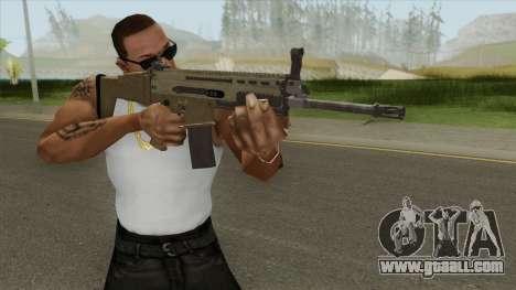 SCAR-L (Army) for GTA San Andreas