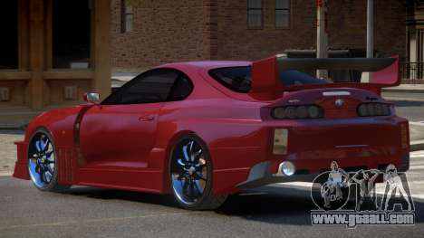 Toyota Supra D-Style for GTA 4