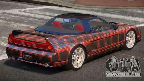 Honda NSX-R LT PJ6 for GTA 4