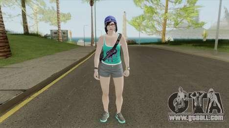 Random Female V18 (GTA Online) for GTA San Andreas