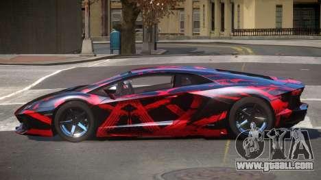 Lamborghini Aventador S-Style PJ1 for GTA 4