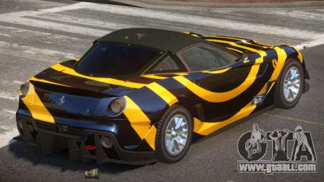 Ferrari 599XX R-Tuning PJ3 for GTA 4