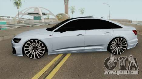 Audi A6 C8 (S-Line) for GTA San Andreas