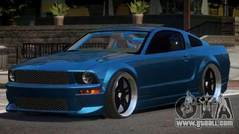 Ford Mustang GT UG98 for GTA 4