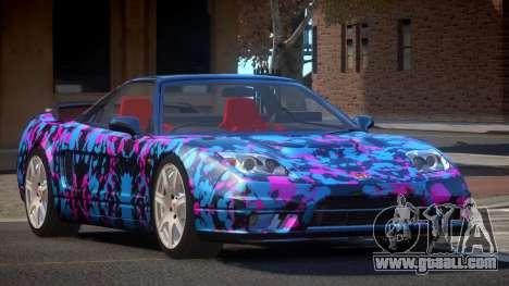 Honda NSX-R LT PJ4 for GTA 4
