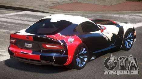 Dodge Viper SRT D-Tuned PJ3 for GTA 4