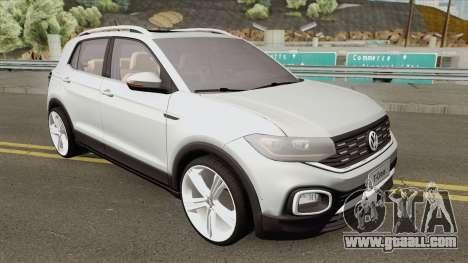 Volkswagen T-Cross 2019 HQ for GTA San Andreas