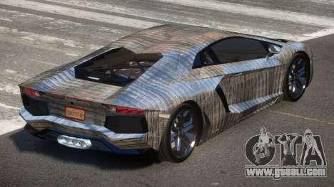 Lamborghini Aventador JRV PJ5 for GTA 4