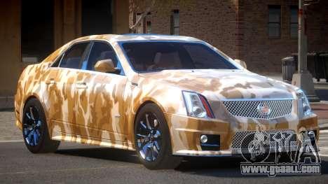 Cadillac CTS-V LR PJ5 for GTA 4