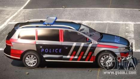 Volkswagen Passat UL Police for GTA 4