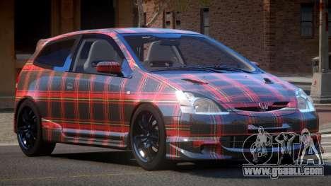 Honda Civic Type R-Tuned PJ5 for GTA 4