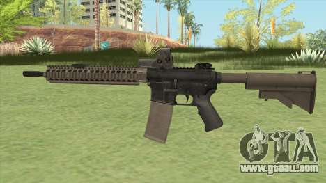 M4 SOPMOD II for GTA San Andreas