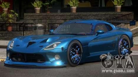 Dodge Viper SRT L-Tuning for GTA 4