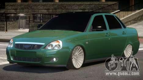 Lada Priora 2170 SR for GTA 4