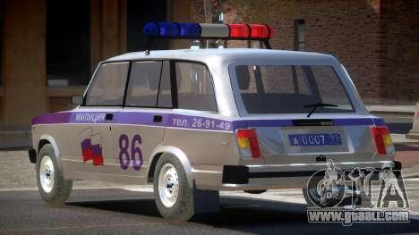 VAZ 2104 Police for GTA 4