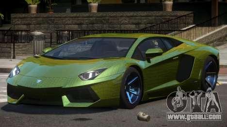 Lamborghini Aventador S-Style PJ4 for GTA 4