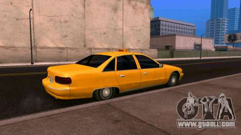 Chevrolet Caprice 1993 Taxi SA Style for GTA San Andreas