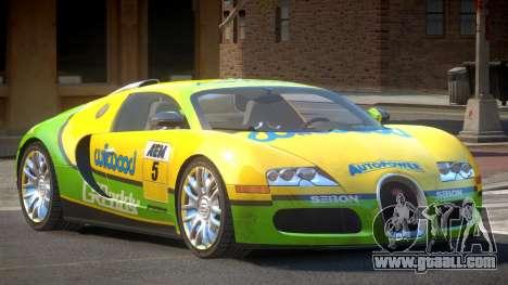 Bugatti Veyron 16.4 S-Tuned PJ4 for GTA 4