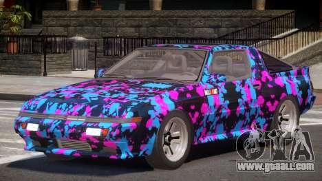 Mitsubishi Starion SR PJ4 for GTA 4