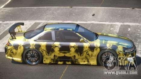 Nissan Silvia S14 R-Tuning PJ2 for GTA 4