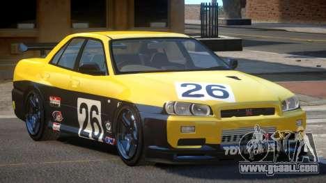 Nissan Skyline R34 D-Style PJ4 for GTA 4