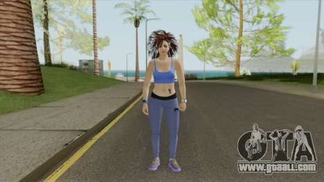 Random Female Skin V1 (Sport Gym) for GTA San Andreas