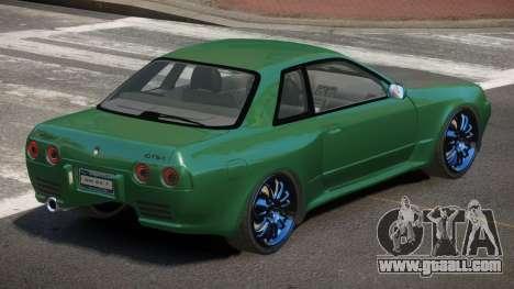 Nissan Skyline R32 IVE for GTA 4