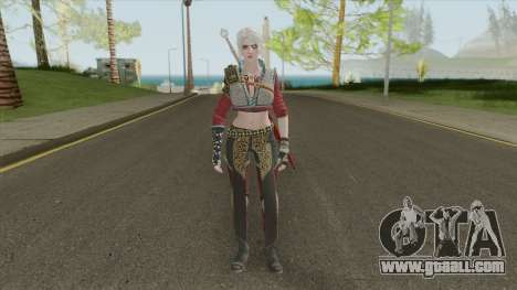 Ciri (The Witcher 3) for GTA San Andreas