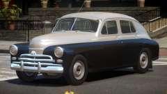 1955 GAZ M20V for GTA 4