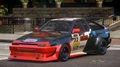 Toyota Corolla GT S-Tuning PJ1 for GTA 4