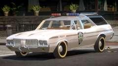 Oldsmobile Vista Cruiser RS Police for GTA 4