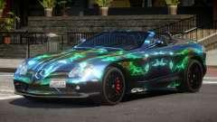 Mercedes-Benz SLR RTF PJ5 for GTA 4
