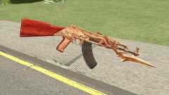 AK47 Dragon for GTA San Andreas