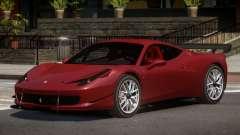 Ferrari 458 Qz for GTA 4