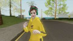 Random Female Skin V2 (Sport Gym) for GTA San Andreas