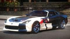 Dodge Viper SRT D-Tuned PJ2 for GTA 4