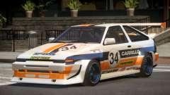 Toyota Corolla GT S-Tuning PJ5 for GTA 4