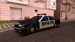 Chevrolet Caprice 1993 SFPD SA Style for GTA San Andreas