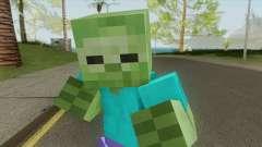 Zombie (Minecraft) for GTA San Andreas