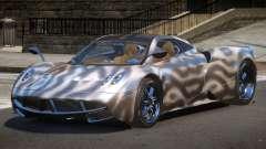 Pagani Huayra GBR PJ4 for GTA 4